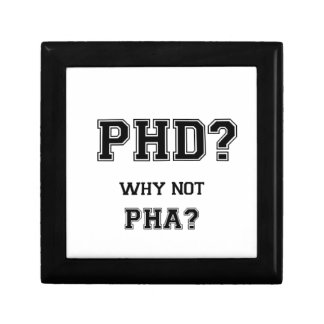 Boîte À Souvenirs PhD ? Pourquoi pas PhA ? Cadeau d'obtention du