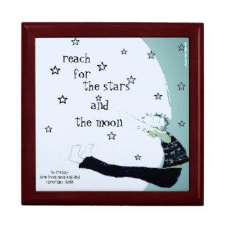 Boîte À Souvenirs Portée pour les étoiles et la coutume de lune