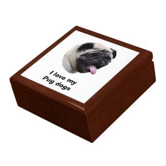 Boîte À Souvenirs Portrait de photo d'animal familier de chien de