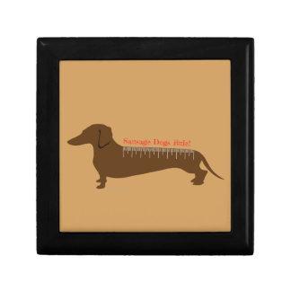 Boîte À Souvenirs Règle de chiens de saucisse