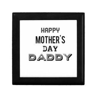 Boîte À Souvenirs repérage de papa de jour de mères
