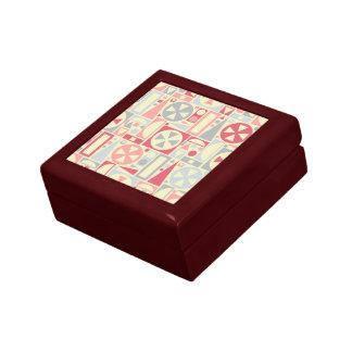Boîte À Souvenirs Rose moderne de la rétro moitié du siècle