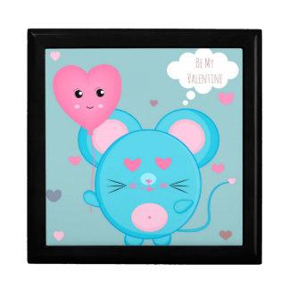 Boîte À Souvenirs Soyez le mien souris mignonne