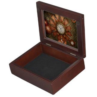 Boîte À Souvenirs Steampunk, conception noble