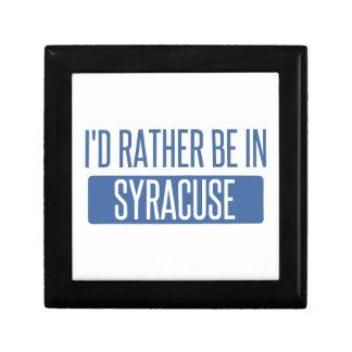 Boîte À Souvenirs Syracuse