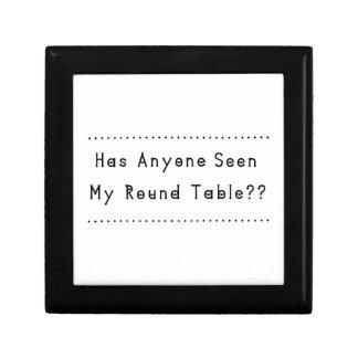 Boîte À Souvenirs Table ronde
