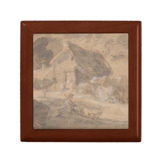Boîte À Souvenirs Thomas Gainsborough - paysage ouvert avec des