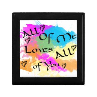 Boîte À Souvenirs Tout le moi amours tous de vous