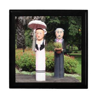 Boîte À Souvenirs Vieilles sculptures en ménages mariés