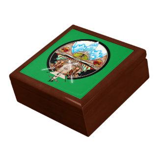 Boîte À Souvenirs Village de Tiki