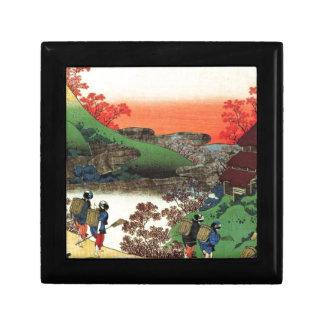 Boîte À Souvenirs Village japonais
