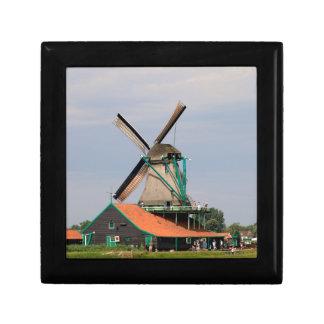 Boîte À Souvenirs Village néerlandais de moulin à vent, Hollande 3