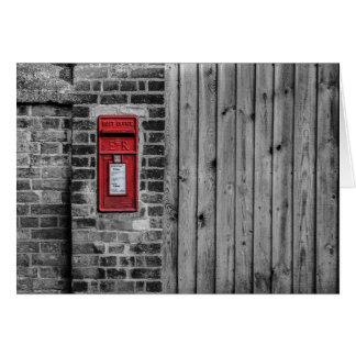 Boîte aux lettres anglaise carte