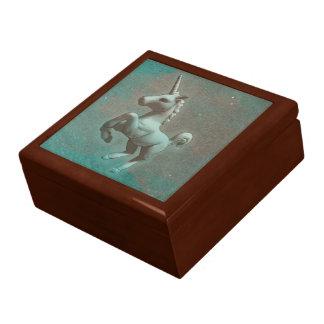 Boîte-cadeau de souvenir de tuile de licorne boîte à souvenirs
