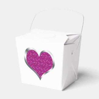 Boîte-cadeau du bonbon 16 à faveur de mariage de ballotin pour dragées