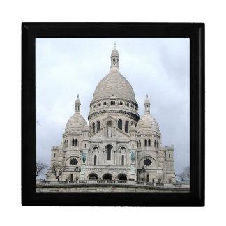 Boîte-cadeau élégante avec Sacre Coeur De Paris Boîte À Souvenirs