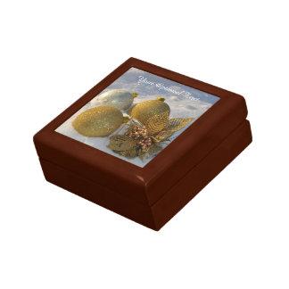 Boîte-cadeau faite sur commande des textes de coffrets cadeaux