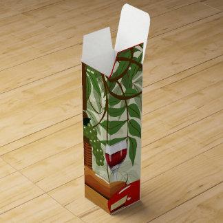 Boite Cadeau Pour Bouteille De Vin Boîte à vin de pique-nique de vin