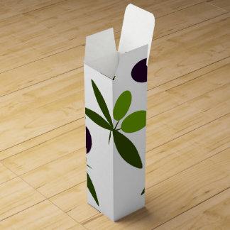 Boite Cadeau Pour Bouteille De Vin Olives