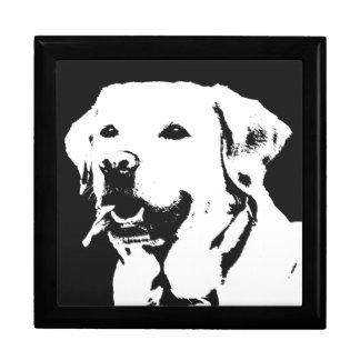 Boîte de souvenir de boîte à bijoux de chien de