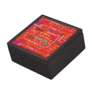 Boîte de souvenir de Noël pour votre amie d'épouse
