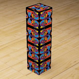 boîte géniale à vin d'art déco boite cadeau pour bouteille de vin