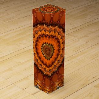 Boite Pour Bouteille De Vin Hindouisme de mandala créé par Tutti