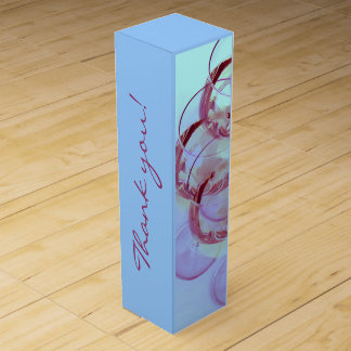 Boite Pour Bouteille De Vin Photographie en verre de vin rouge