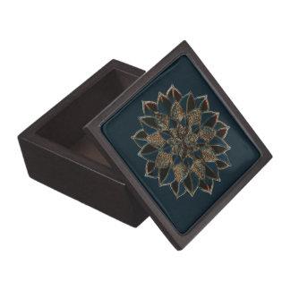 Boîtes À Babioles De Première Qualité Boîte-cadeau avec la conception florale élégante
