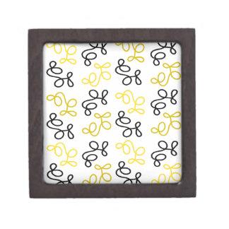 Boîtes À Babioles De Première Qualité Élégance jaune