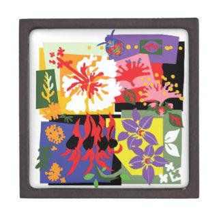 Boîtes À Bijoux De Première Qualité Célébration florale - boîte de souvenir
