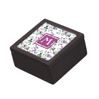 Boîtes À Souvenirs De Première Qualité Boîte rose florale vintage de souvenir de