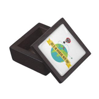 Boîtes À Souvenirs De Première Qualité La vie est une aventure avec vous boîte-cadeau