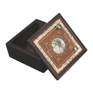 Boîtes À Souvenirs De Première Qualité Libellule - boîte-cadeau en bois d'illusion