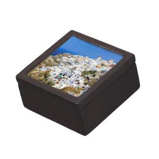 Boîtes À Souvenirs De Première Qualité Village d'Oia sur l'île de Santorini, du nord,