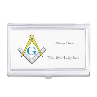 Boîtier Pour Cartes De Visite Caisse de carte de visite maçonnique,