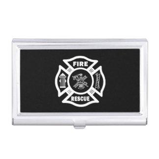 Boîtier Pour Cartes De Visite Délivrance de sapeur-pompier