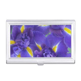 Boîtier Pour Cartes De Visite Fleurs d'iris