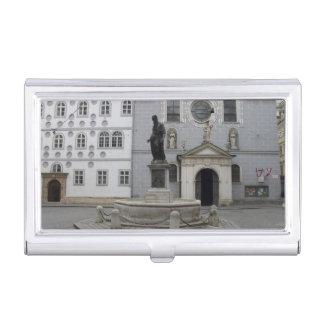 Boîtier Pour Cartes De Visite Franziskanerplatz Vienne Autriche