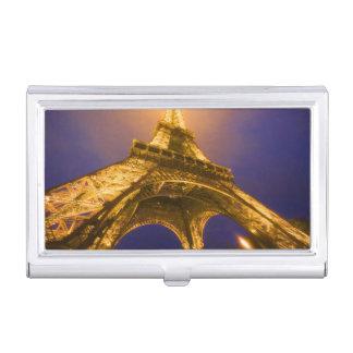 Boîtier Pour Cartes De Visite La France, Paris. Recherche de la base d'Eiffel