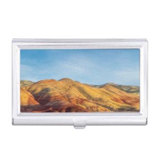 Boîtier Pour Cartes De Visite Les collines peintes dans les lits de fossile de