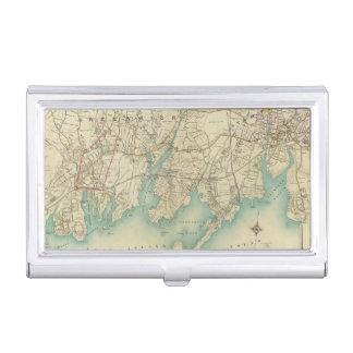 Boîtier Pour Cartes De Visite New York City du nord 7