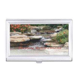 Boîtier Pour Cartes De Visite Porte-cartes de carte de visite de cascade de