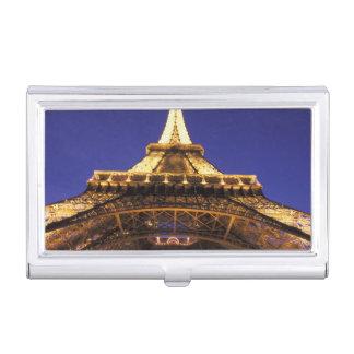 Boîtier Pour Cartes De Visite Tour Eiffel de la FRANCE, Paris, égalisant la vue