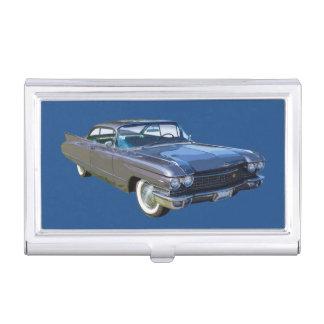 Boîtier Pour Cartes De Visite Voiture 1960 de luxe antique de Cadillac