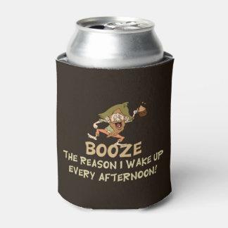 Boivent de l'alcool la raison que je réveille dire rafraichisseur de cannettes