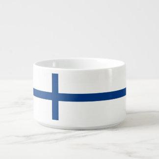 Bol Pour Chili Drapeau de la Finlande