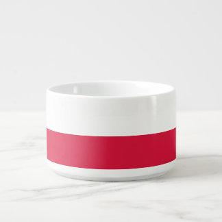 Bol Pour Chili Drapeau de la Pologne