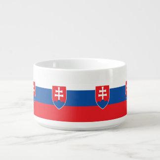 Bol Pour Chili Drapeau de la Slovaquie