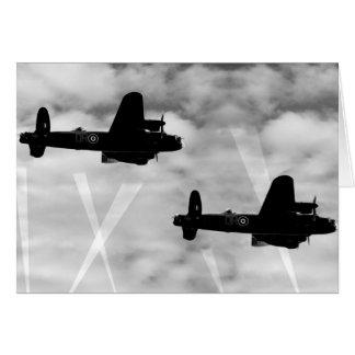 Bombardier de 2ÈME GUERRE MONDIALE Avro Lancaster Carte